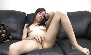 hot babe is getting your hands on fucked in her wide-opened mouth