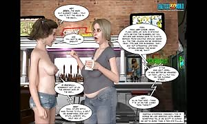 3D Comic: unrestrained. episode 14