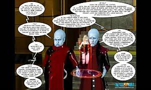 3D Comic: Rebellion. episode 5