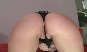 great titties on turned on schoolgirl slut