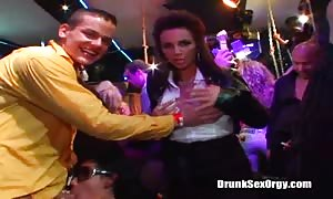 crazy oral and vaginal sex at a insane event with the drunk honeys
