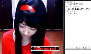 astounding Korean amateur cam