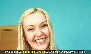 teen Libertines - Her twat is not rock-hard to get