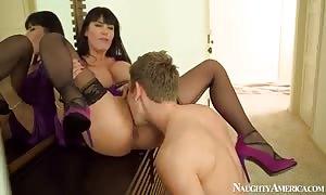 Danny Wylde is pleasing her gfs pussy