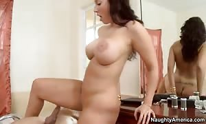 Kelly Divine gets ass screwed by Mr. Peter