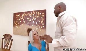 White lady Emma Starr pounds with Prince Yahshua