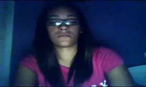 teenager mastubates on webcam til she ejaculates