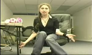 Goth woman Midnite deepthroat blowjob