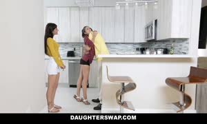 DaughterSwap - teen Besties screw Eachothers fathers