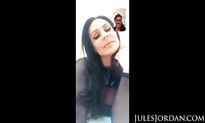 Jules Jordan - giant hooter mom I would like to fuck celeb Kendra Lust Has A bbc Celebration