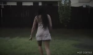 Romantic sex underneath the rain in Texas (the neighbors saw us)