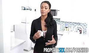 PropertySex - aroused real estate manager drills pissed off tenant