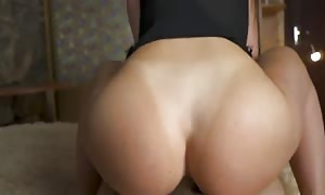girlfriend GAVE IN THE butt two times - DOUBLE ass sex creampie - DICKFORLILY