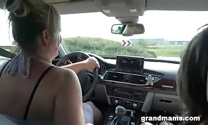 Two milfs simply banged Me in Public!