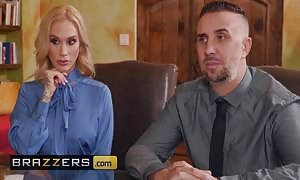 Brazzers - inked mother I'd like to fuck Sarah Jessie gets pounded over a desk