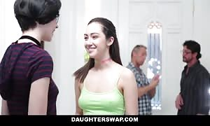 DaughterSwap - Naive teens