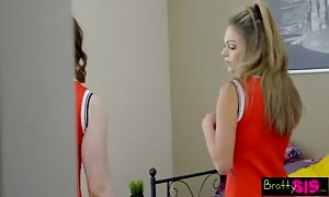 Bratty Sis - best friend forever Catches StepBro Creaming His Sisters slit! S6:E8