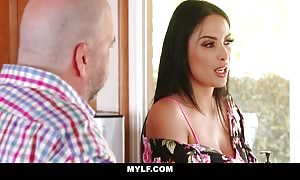 MYLF - sexy French mommy licks Off Her aroused