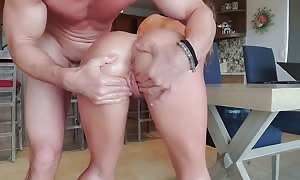SinsLife- greased Her Up and Gave Her multiple jiggling climaxes!