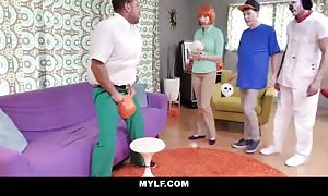 MYLF - Vocal Ginger mom bangs