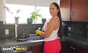 BANGBROS - aroused latin girl mother I would like to fuck servant Marta La Croft Gargles On huge schlong