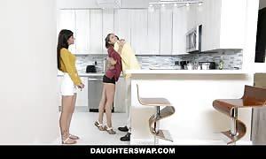DaughterSwap - teenager Besties fuck Eachothers fathers