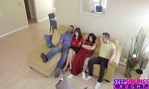 StepSiblingsCaught - jizzing into