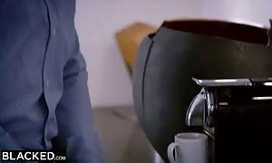 BLACKED huge large black dick UP Lana Rhoades butt