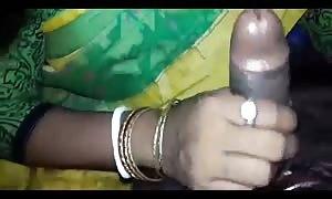 Desi Boudi/Bhabi deepthroat blowjob in sari
