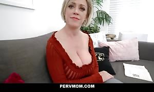 PervMom - wide booty step mother will get