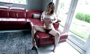 Step mother with vast boobies Dares Me to solely Put the Tip In - Amiee Cambridge