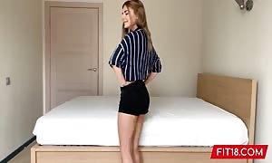 FIT18 - Eva Elfie - large Natural boobs and No ink