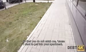 DEBT4k. Agent exploits teen woman choose a cheap street walker because of debts