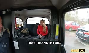fake Taxi turned on French Angel Emily is torn up hardcore by former boyfriend