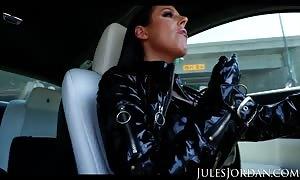 Jules Jordan - Angela White gang bang, Double ass sex, Triple Penetration!