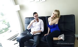 fuckin' Her step parent FINALLY! Katie Banks ripped rubber face unloaded