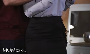 MOMXXX. latina mother in stockings gives tit fuck and throat fuck to massive boner