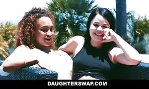 DaughterSwap - perverted daddies bang and Share Daughters
