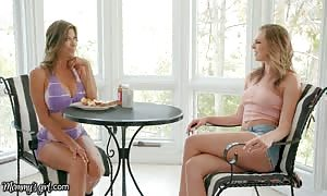 MommysGirl Alexis Fawx trains Tiffany Watson How To explode desire A Fountain